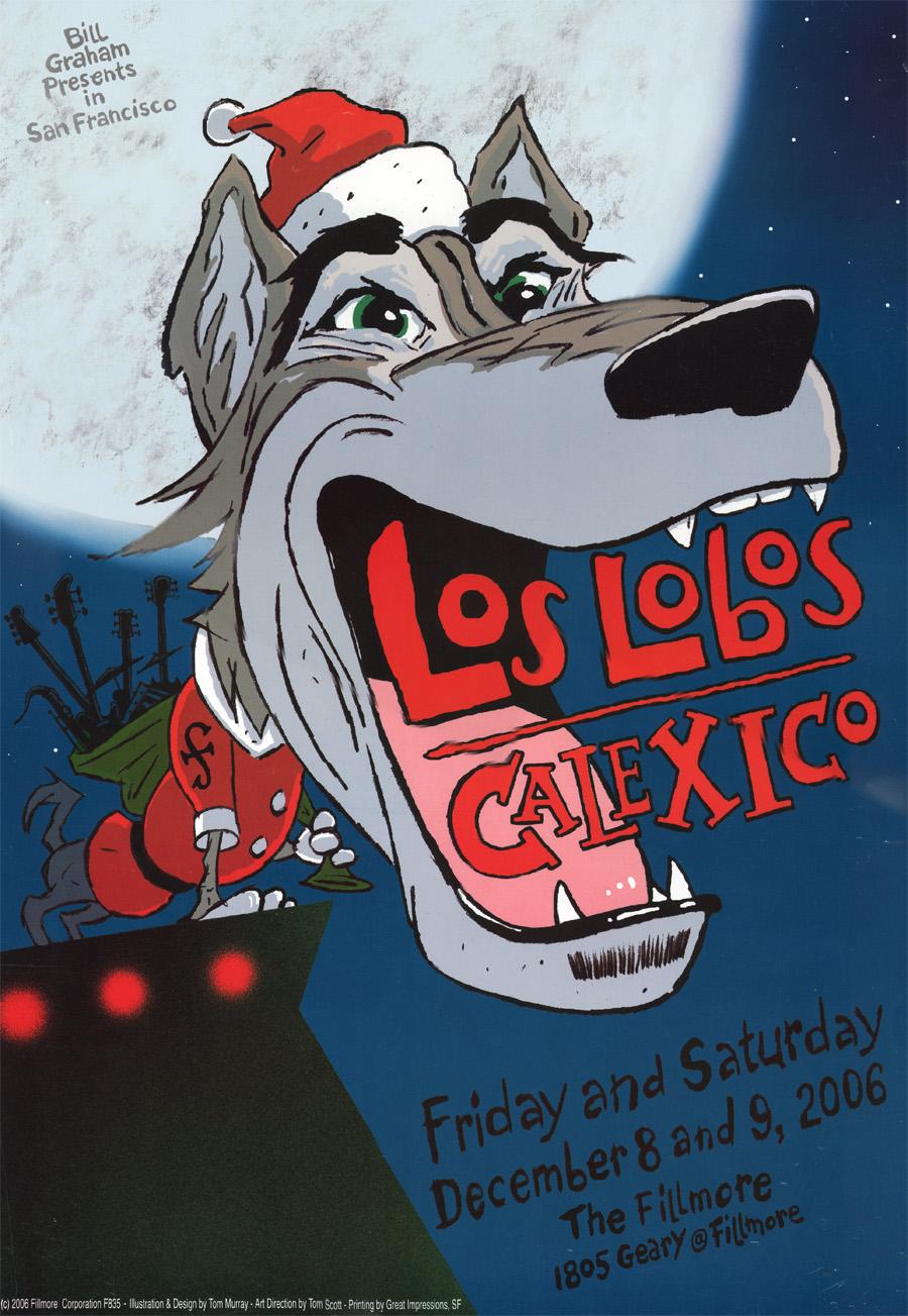 los lobos calexico poster