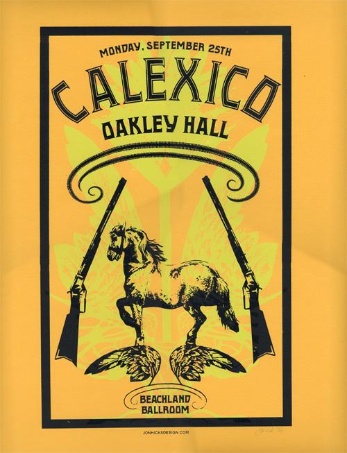 calexico oakley hall poster