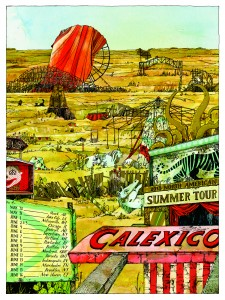 2013 North American Summer Tour Poster (Landland)