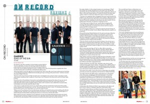 Rhythms Magazine May June 2015 issue page 16-17 - Calexico