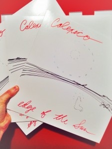 Calexico Handdrawn LP Sleeve